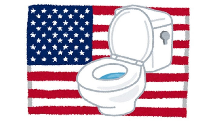アメリカトイレ事情!日本人の私が気になった3つのこと