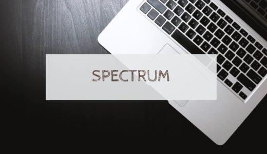 """アメリカのインターネットプロバイダー""""Spectrum"""""""