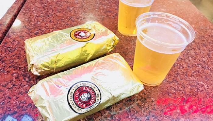 """Earl of Sandwich"" ラスベガスで美味しいホットサンド"
