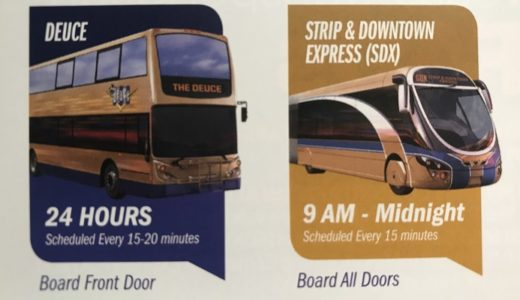 ラスベガスの交通事情!移動に便利なバスの利用方法と感想