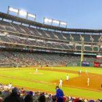 テキサスで野球観戦!<br>Globe Life Parkでレンジャーズ戦を体験