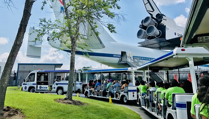 90分の宇宙体験!NASA トラムツアー in ヒューストン